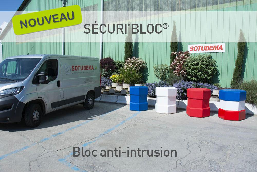 Nouveau bloc anti-intrusion en béton SOTUBEMA