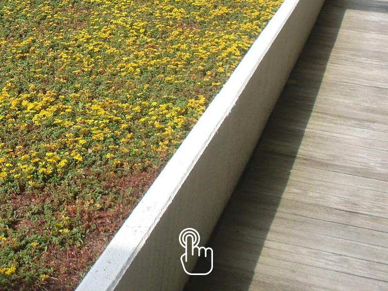 MURET ALPHA® - Muret béton multi-usage, profil L pour toiture-terrasse, bande stérile, soubassement de vide sanitaire. SOTUBEMA